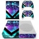 Tech Wallpaper skin decal for Xbox one Slim console and controllers