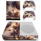 Famous oil painting skin decal for Xbox one S console and controllers
