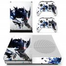Metal wolf skin decal for Xbox one S console and controllers