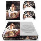 The lady of shalott  skin decal for Xbox one S console and controllers