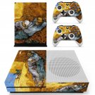 Vincent van gogh paintaing skin decal for Xbox one S console and controllers