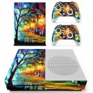 Acrylic painting  skin decal for Xbox one S console and controllers