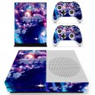 Cloudy sky skin decal for Xbox one Slim console and controllers