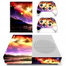 Planet sky skin decal for Xbox one S console and controllers