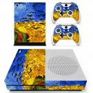 Van gogh museum Painting skin decal for Xbox one S console and controllers