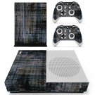 Fabric texture skin decal for Xbox one S console and controllers