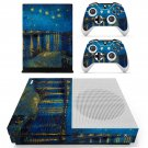 Starry night  skin decal for Xbox one Slim console and controllers