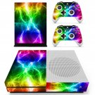 Colorful Lightning  skin decal for Xbox one S console and controllers
