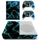 Black Lightning sky  skin decal for Xbox one S console and controllers