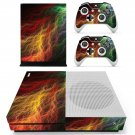 Abstract lightning art skin decal for Xbox one S console and controllers