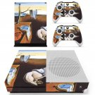 The Persistence of Memory  skin decal for Xbox one S console and controllers