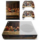 Jesus christ last supper painting skin decal for Xbox one S console and controllers