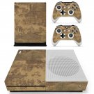 Along the River During the Qingming Festival skin decal for Xbox one S console and controllers