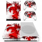 Flage of  skin decal for Xbox one S console and controllers