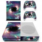 Galaxy scene skin decal for Xbox one S console and controllers