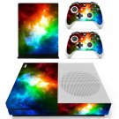 Sky space scene skin decal for Xbox one Slim console and controllers