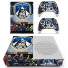 Oldham athletic AFC skin decal for Xbox one S console and controllers