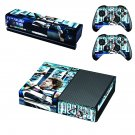 Geelong Football Club skin decal for Xbox one console and controllers