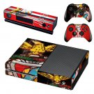 Emblema do benfica skin decal for Xbox one console and controllers