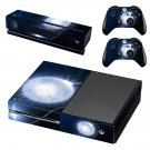 Bright Moon skin decal for Xbox one console and controllers