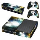 Bursting Moon skin decal for Xbox one console and controllers