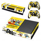 Cuphead skin decal for Xbox one console and controllers