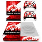Spartak Moscow skin decal for Xbox one Slim console and controllers