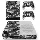 Woodland Camouflage skin decal for Xbox one S console and controllers