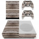 Barn Wood skin decal for Xbox one S console and controllers