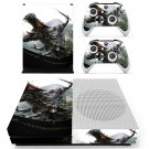 Transformers Age of Extinction skin decal for Xbox one S console and controllers