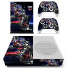 Transformers skin decal for Xbox one S console and controllers