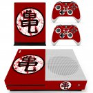 Goku skin decal for Xbox one S console and controllers