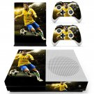 Neymar Jr skin decal for Xbox one S console and controllers