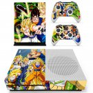 Dragon Ball Z skin decal for Xbox one S console and controllers