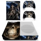 Skeleton skin decal for Xbox one Slim console and controllers