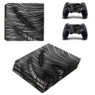 Zebra Stripes ps4 pro skin decal for console and controllers