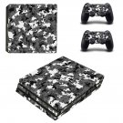 Military Camouflage ps4 pro skin decal for console and controllers