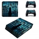 The Dark Knight ps4 pro skin decal for console and controllers