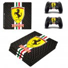 Ferrari ps4 pro skin decal for console and controllers