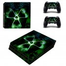 Custom Design ps4 pro skin decal for console and controllers