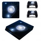 Bright Moon ps4 slim skin decal for console and controllers
