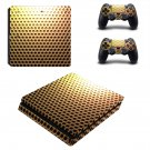 Geometry Round ps4 slim skin decal for console and controllers