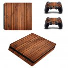 Barn Wood ps4 slim skin decal for console and controllers