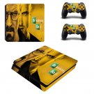 Breaking Bad ps4 slim skin decal for console and controllers