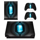 Future Science Fiction xbox one X skin decal for console and 2 controllers