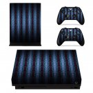 Custom Pattren xbox one X skin decal for console and 2 controllers