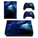 Open Space View xbox one X skin decal for console and 2 controllers