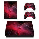 Cosmos xbox one X skin decal for console and 2 controllers