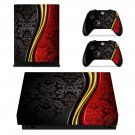 Beautiful Custom Design xbox one X skin decal for console and 2 controllers