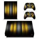 Gradient xbox one X skin decal for console and 2 controllers